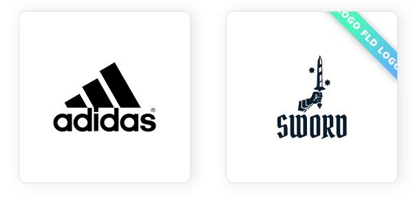 Beispiel von Wort-Bild-Marke Logos