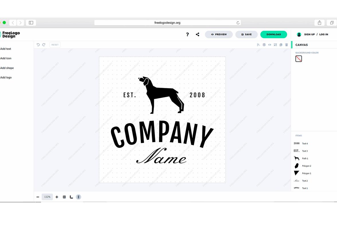 The New Logo Maker of FreeLogoDesign