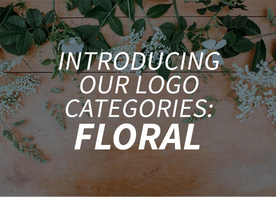 Introducing our logo categories: floral