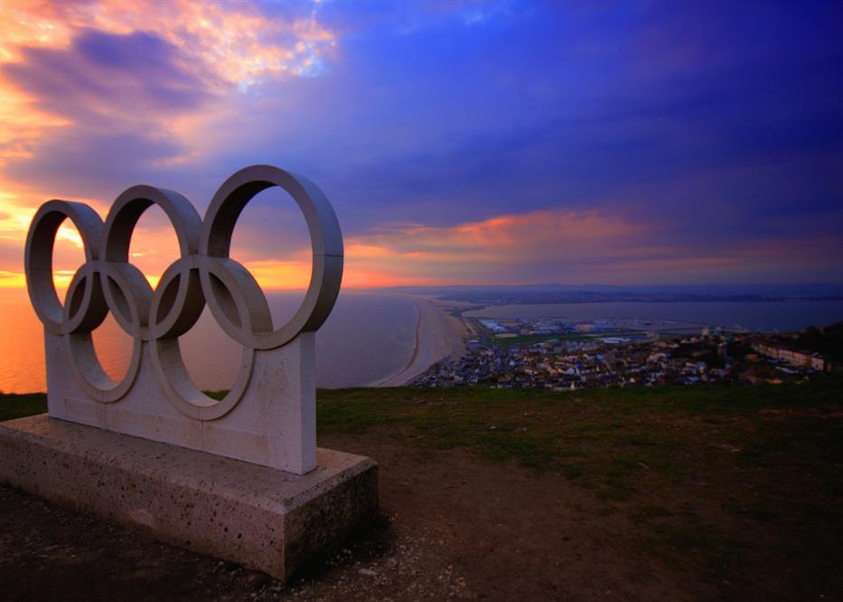The Olympics logo story
