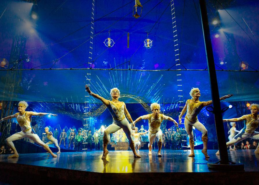 The Cirque du Soleil Logo Over the Years