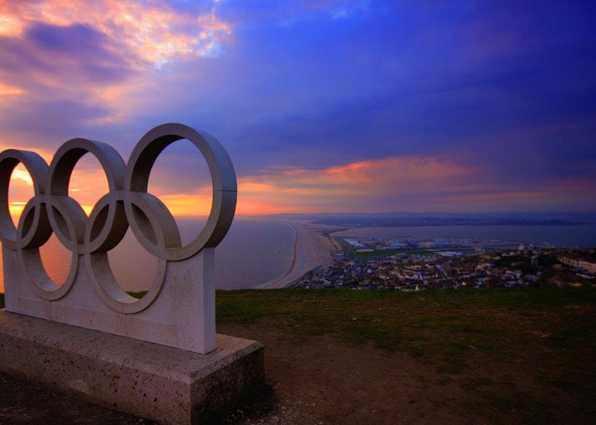 Die Geschichte des Logos der Olympischen Spiele