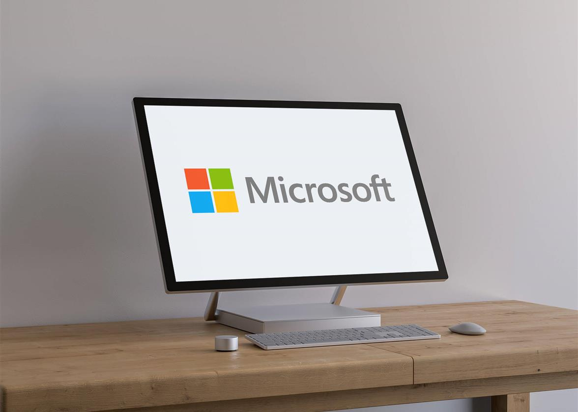 La historia del logo de Microsoft