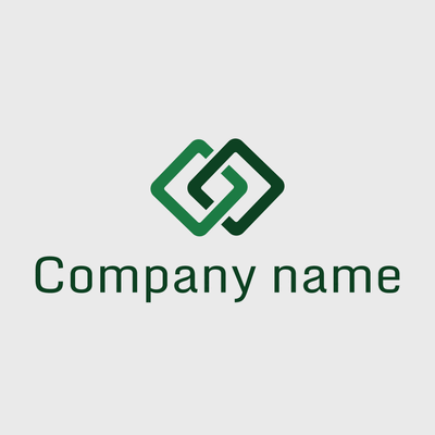 connected squares logo - Technology Logo