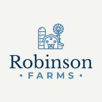 Nombre del logotipo de la granja Robinson - Agricultura Logotipo