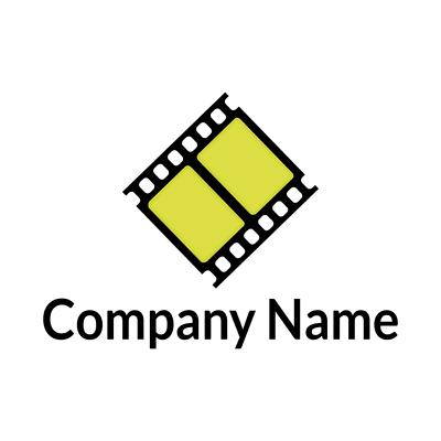 cinema reel logo - Photography Logo