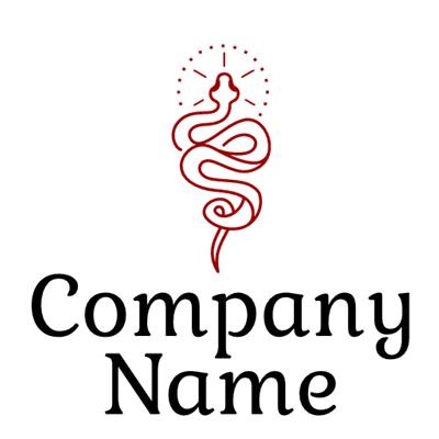 Logotipo de serpiente del conocimiento - Religión Logotipo