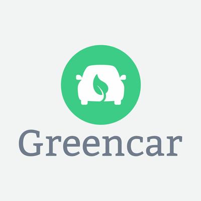 ecological green car logo - Automotive & Vehicle Logo