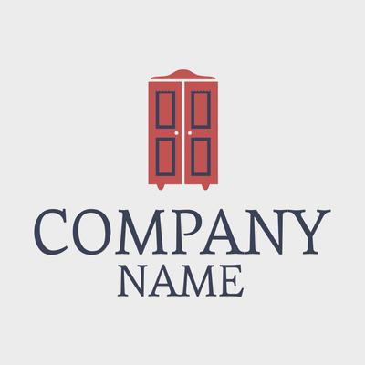 Red Cabinet Logo - Home Furnishings Logo