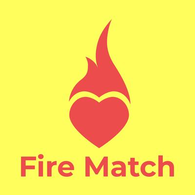 fire match logo heart - Communications Logo