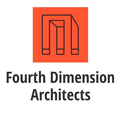 Logotipo de arquitecto con ilusión óptica - Arquitectura Logotipo