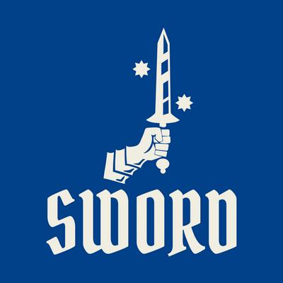 Logo de espada - Juegos & Entretenimiento Logotipo
