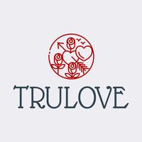 Flores de flecha logo Trulove - Servicio de bodas Logotipo