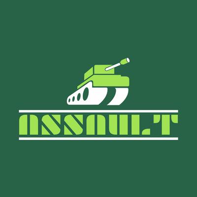 Logo tanque verde - Seguridad Logotipo
