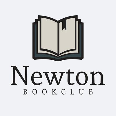 Libro logo marcapáginas newton book club - Comunidad & Sin fines de lucro Logotipo