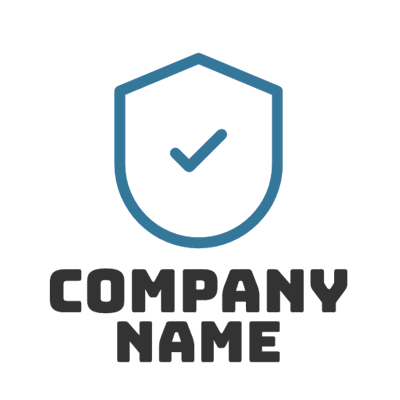 Secure badge logo - Security Logo