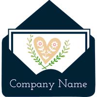 love letter logo - Dating Logo