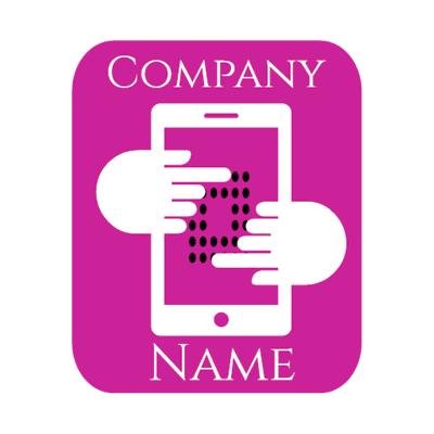 violet techno logo - Technology Logo