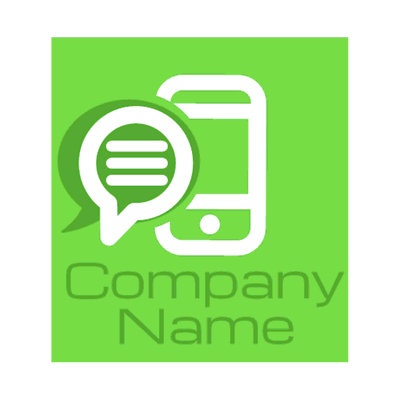 green communication logo - Technology Logo