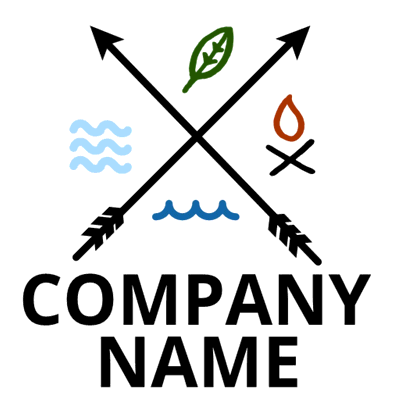 Logotipo de 4 elementos - Juegos & Entretenimiento Logotipo