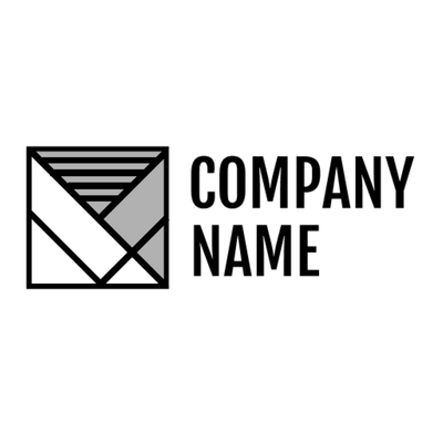 Logo with envelope icon - Technology Logo