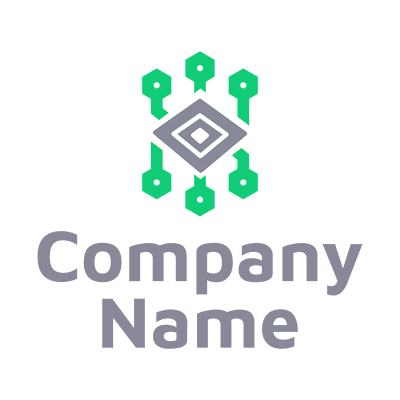 science and computer logo - Technology Logo