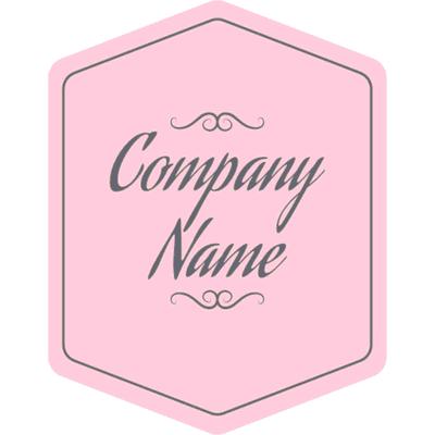Insignia de logotipo en relación con la belleza - Servicio de bodas Logotipo