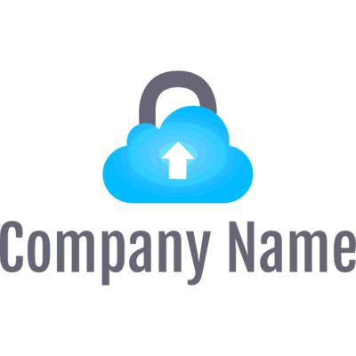 safe cloud data logo - Security Logo