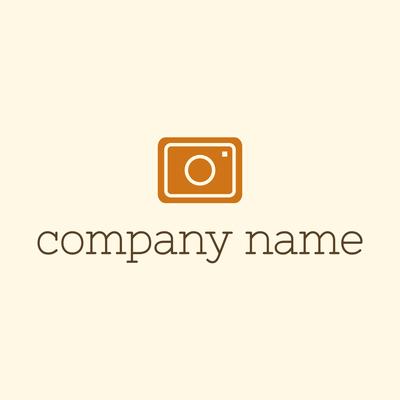 Orange camera logo - Photography Logo