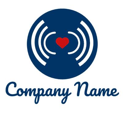 love of music logo - Dating Logo
