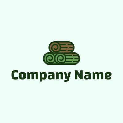 turf roll logo - Landscaping Logo
