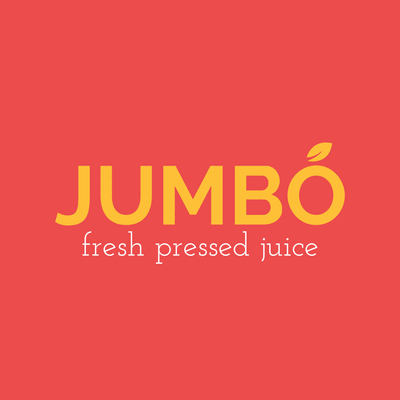 Yellow and Red Juice Bar Logo - Food & Drink Logo